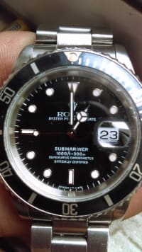 Rolex, Rolex , Rolex oyster perpetual date submariner1000ft=30m