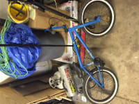 Bmx bike, It's a 2012 verde prism, used maybe 8 times. All stock nothing has been replaced.