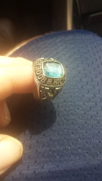 class ring, Class ring from 1984 ,white gold  Jostens , Gently used