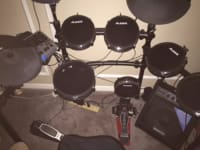 alesis dm10 studio professional electronic drum kit -molar heads, Alesis dm10 studio professional - Molor Heads (Not Mesh)