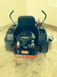 "2014 toro 50"" zero turn mower, Toro ss 5000 mower, Like new"