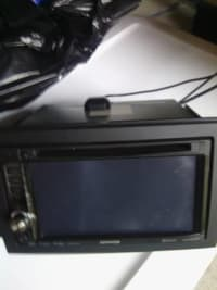 CD player w DVD and nav, Kenwood touchscreen CD DVD nav player , Like new
