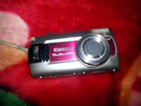 canon digital camera, Canon PowerShot a470 7.1 megapixels 3.4 optical zoom, Used, worn