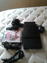 ps2, Electronics, scph-70012, Ps2 one controller all cords and 1 game
