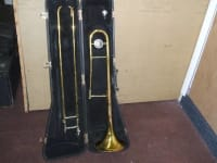 King Trombone 606, This is a super trombone. King is one of the best names in brass instruments., Gently used