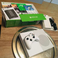 Xbox One, Xbox One S, Model No: 1681, 2018, 500 GB Go Hard Drive, 4k Video Streaming, Battlefield 1 edition (Installed), 1 month EA access and Xbox Live Gold for 14 days. Included:  Xbox One S console, Wireless controller, Battlefield 1 Game Downloaded, High Speed HDMI Cable, Wireless Networking Capability, Blue Ray Player.  All equipment in like new condition.