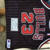 Micheal Jordan authentic papers w signature 1995 black w red str