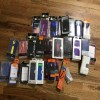 Assortment of android smartphone cases