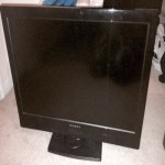 """Dynex, 2011-2012, 32"""" LCD TV that is in perfect physical condition. It will no longer turn on when plugged in. Haven't tried replacing the power cord and want to sell for low cost to someone who could use for parts or would like to repair. Has some of the original instructions along with the remote."""