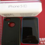 iPhone 5c, 2014, This is an unlocked iPhone 5c in great condition it comes with original iPhone box and has an otter box with screen saver, Unlocked