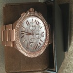 Michael Kors , Rose Gold Women's Watch ; excellent condition. Worn maybe 2 times. Comes in box