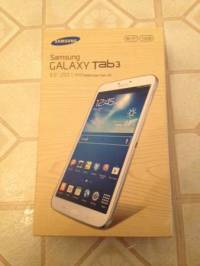 Samsung Galaxy Tab 3 (8-Inch, 16GB, White), Selling a new sealed/unopened Samsung Galaxy Tab 3 (8-Inch, 16GB, White), Like new