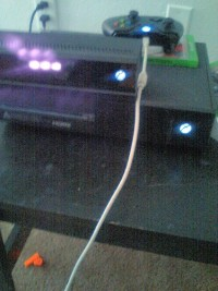 Xbox one with kinect , Electronics, Microsoft Xbox one system, Gently used Xbox one with kinect. Everything works nothing broke nothing is missing. Two controllers one is wireless