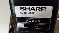 "Sharp Aquos 39"" Full Hd television , Electronics, Sharp Aquos, 39"" full hd flat screen television"