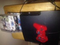 Playstation 3 with 5 games and controller, Electronics, Sony ps3, 320gb ps3 with 5 games and red controller