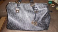 micheal kors purse, Other, Black large micheal kors logo in great condition .