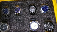 Invicta watches, Luxury Watch, Invicta 6 of them got at retail 500 each, 6 of them in a water proof Invicta xase