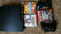 Playstation3 3 games, and 2 controllers, Electronics, sony, I have a Playstation 3 works like it's brand new, 2 controllers, and 3 games (ncaa 14, NBA jam, grand theft auto 5)