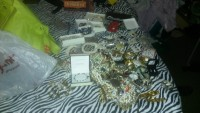 jewelry, Jewelry, Costume jewelry, Costume jewelry. A lot of  jewelry. Here is only some of jewelry. I want to sell the whole lot. Rings, watches, necklaces, bracelets. I have not went through it so it might be something valuable there.