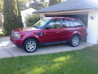LAND ROVER, Vehicle, 2009 LAND ROVER RANGE ROVER SPORT
