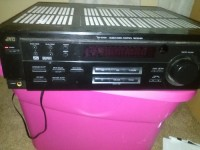 jvc reciever, Electronics, JCV Reciever RX-6018VBK, I have had this reciever for a long time it is gently used and in perfect condition minor scratches but 9/10 condition