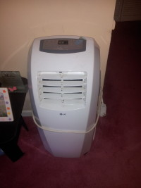 air conditioner, Other, Lg btu portable