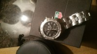 Tag Heuer men's watch, Luxury Watch, tag heuer chronograph, Still has box and booklets