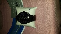 seiko watch, Luxury Watch, seiko solar chronograph , Gun metal band and watch