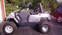 Yamaha G1 Monster Golf Cart, Vehicle, Yamaha G1 Golf Cart with new tires, new suspension and new brakes. '91 arctic cat engine, banshee suspension, LED lights, new muffler. Great off-road vehicle, will go up to 50 MPH!
