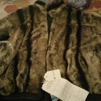 fur coat, Antique, Collectible, Chinchilla reversible bomber