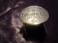 tiffany & co N.Y cuff links, Jewelry, silver 925, Please return to                        tiffany & co  925  cuff links
