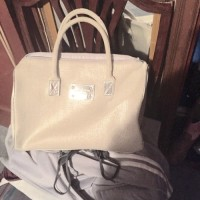 Purse , Other, Michael Kors purse silver beige