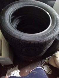 Goodyear tires, Vehicle, Tires are new never used