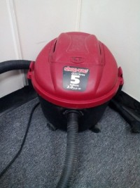 Wet-Dry Shop-Vac, Tools, Equipment, This is a shop-vac. It is 5 gallons. I have had it for a few years, but barely used it. It is taking up room so I am ready to get rid of it. What can you offer?