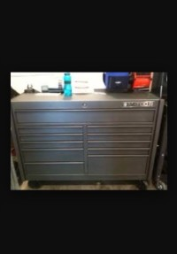 Tool box, Tools, Equipment, Matco tools box with stainless top