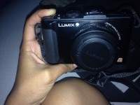 camera, Electronics, Panasonic Lumix DMC-LX7, Never been used, 10 megapixels, black.