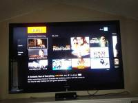 Sharp 60inch Aquos, Sharp Aquos 60'' flat screen television 1080p 120hz LCD HDTV with 3 HD ports, all audio and cable connections work. Remote and table stand included., Like new