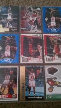 Baseball and Basketball cards, Other, Baseball adn basektball cards. 50 cards. 1980-1990's