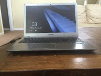 "Samsung Laptop Series 5 15.6"" Screen, Electronics, Model# NP510R5E, Silver Samsung Laptop 15.6"" screen"