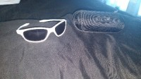 Oakley sunglasses, Other, White sunglasses made by Oakley in brand new condition, case comes with it