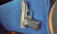 380 handgun jimenez, Gun, na, Bought used. 380 jimenez automatic