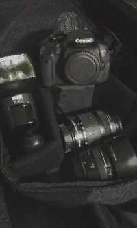 Canon Rebel t4i, Electronics, Canon Rebel t4i, Camera, Canon custom camera backpack, 50mm Canon EFS 1.4 Lens, Canon EFS 18-135 Lens, Metz 44 AF-1 External Flash unit