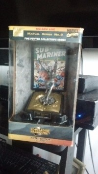 marvel series collectors item, Antique, Collectible, Comic book champions fine pewter collectors series limited edition