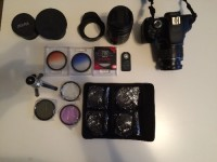 Camera, Electronics, Canon T3i