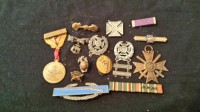 WW II medals, Antique, Collectible, my grandfather and father-in-law medals