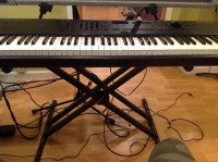 Digital Piano, Musical Instruments, Equipment, Kurzweil PC 88 digital keyboard with power adapter. Good condition. All the keys work.