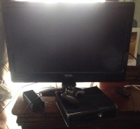 Xbox 360 slim, LCD TV , Electronics, Xbox, Philips, Have all accessories, one controller, 40 inch LCD Philips flat screen tv.