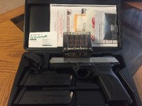 Ruger SR45, Gun, All items with purchase from retailer(Box and Docs), Ruger SR45