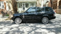 2006 Range Rover, Vehicle, 109,000 miles. Black. Gray interior. No liens.  Clean title.  Probably worth $16K.