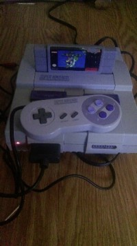 A Super Nintendo, Electronics, Super Nintendo, It's it really taken care of